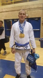I won the blue belt heavy and open class in 2015.